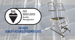 BSI 9001:2015 assured