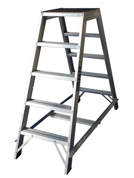 Chase Ladders Double Sided Library Steps