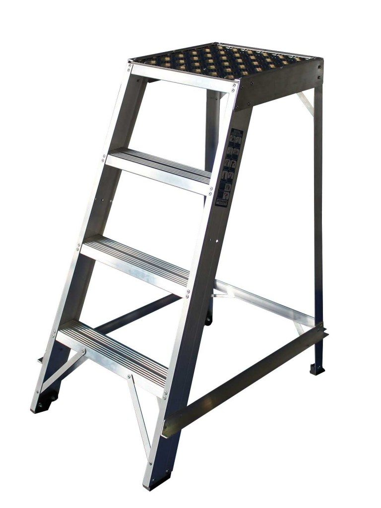 Roof Rack Ladder >> Library Steps - Single Sided – Chase Ladders
