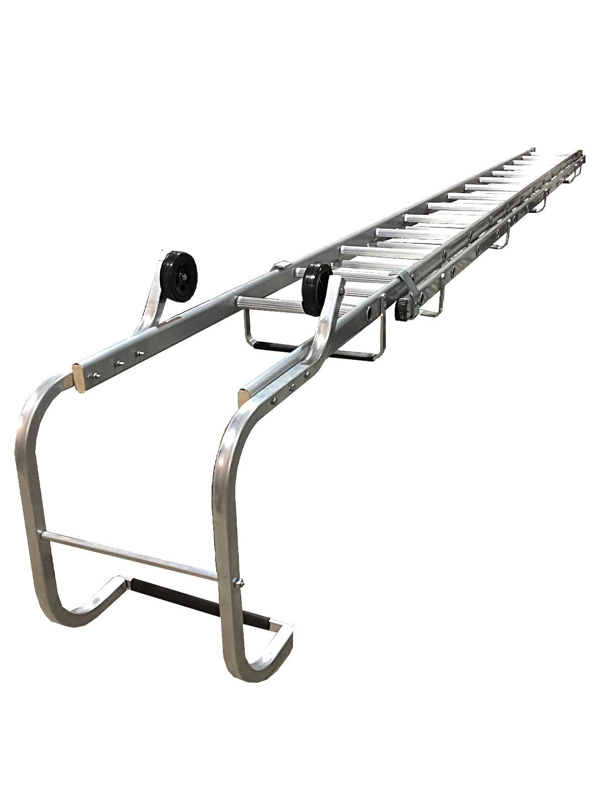 Ladder Roof Rack >> Extending Roof Ladders - Chase Manufacturing Ltd