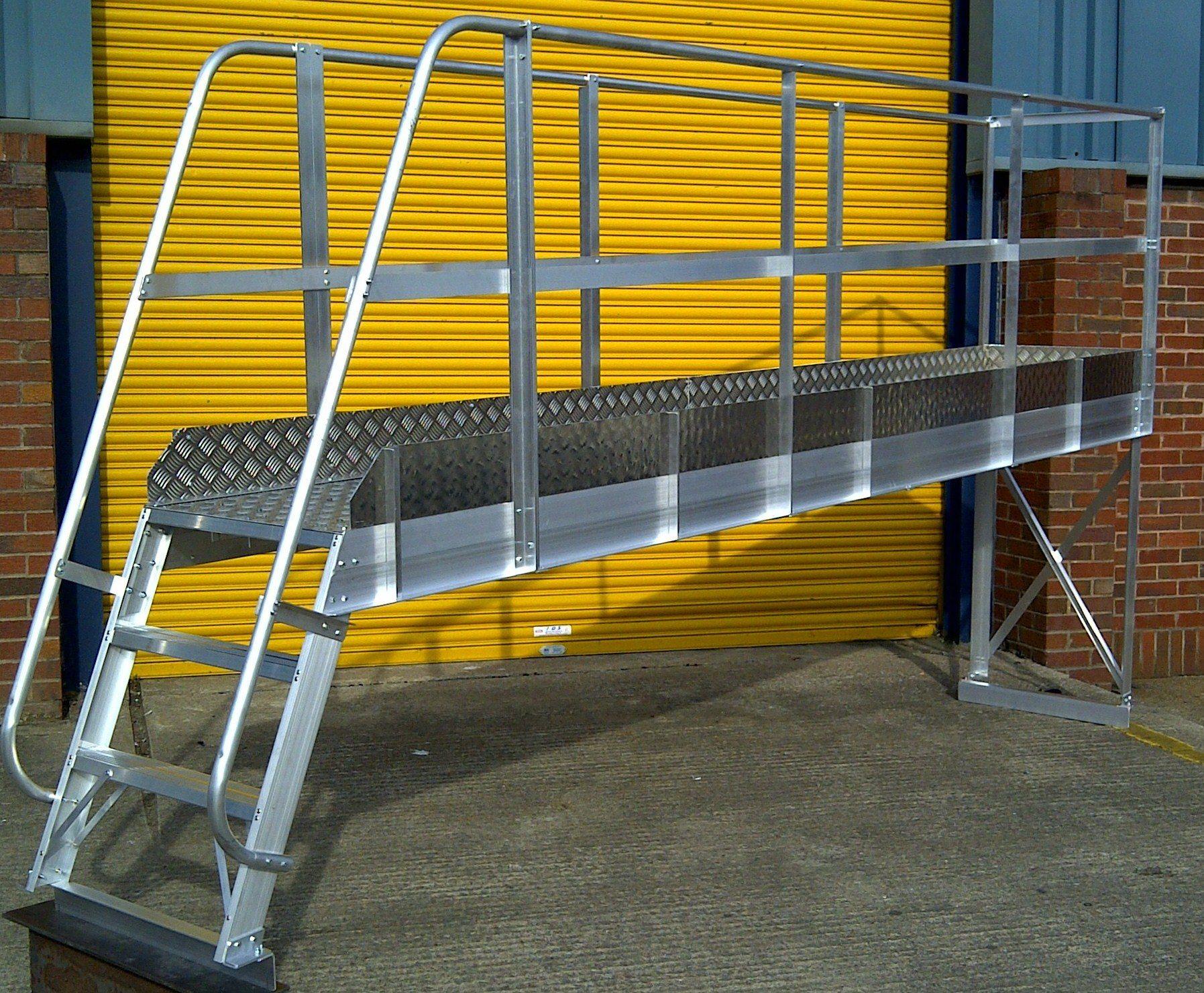 Bespoke Work Platforms Chase Ladders