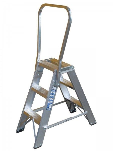 Chase Ladders Utility step with steadyrail