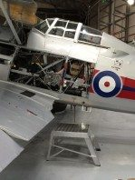 Chaseladders Hopstar in use at The Fighter Collection Duxford
