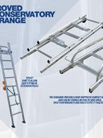 The All improved Chase Conservatory Ladder Range