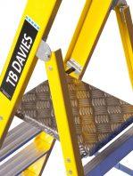 GRP Folding Platform Steps