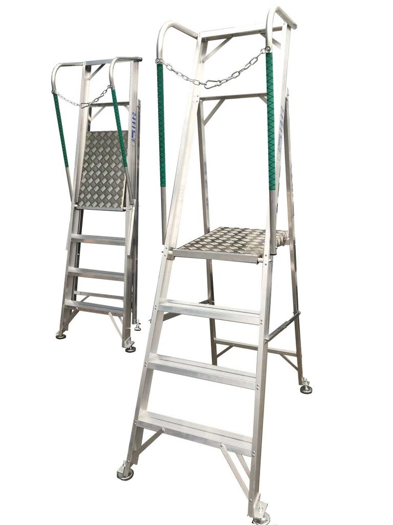 Folding Roof Access Ladder Flachdachausstieg Mit