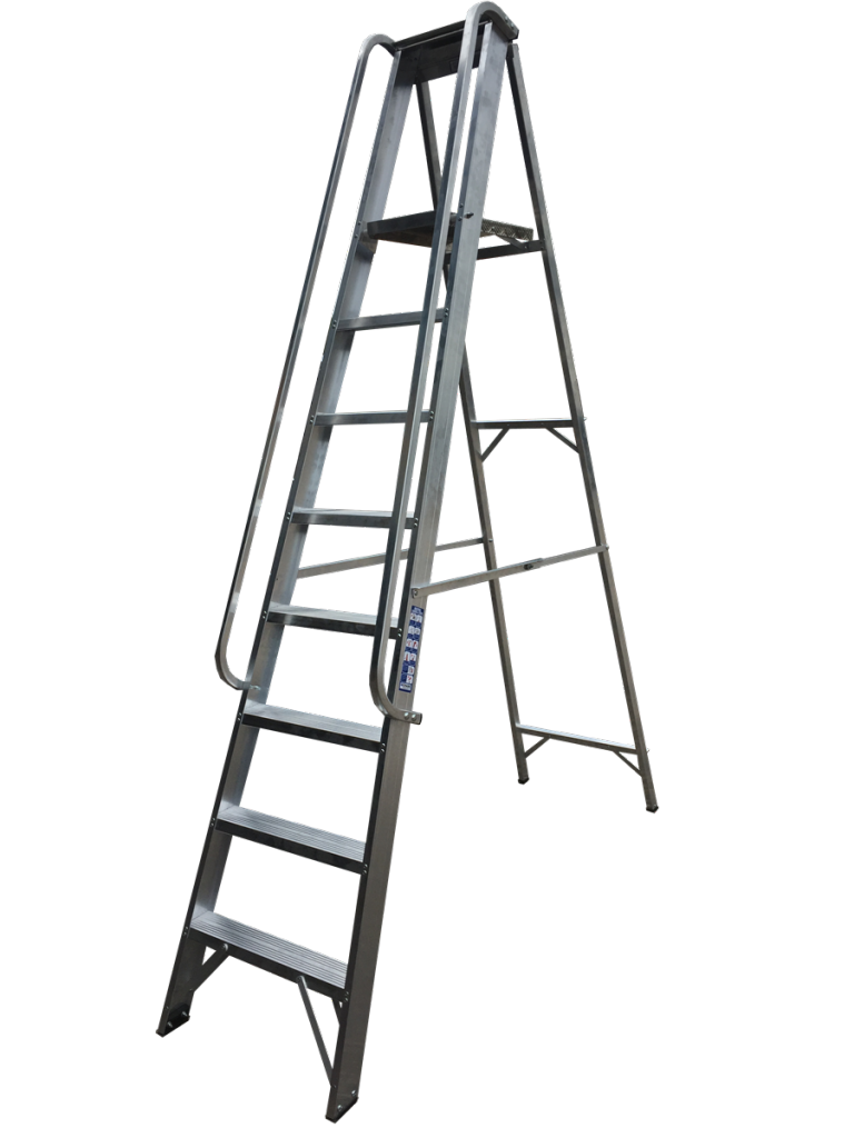Class 1 Stepladder with Handrails