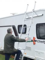 Caravan Cleaning Ladder