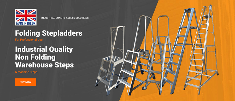 Industrial quality Stepladders